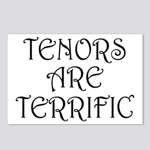 Fun Tenors Are Terrific Postcards (Package of 8)