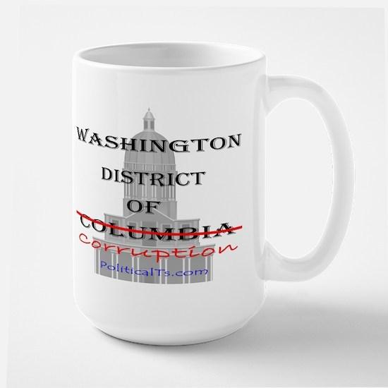 District of Corruption Large Mug