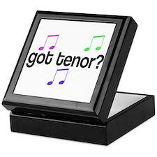 Got Tenor Keepsake Box