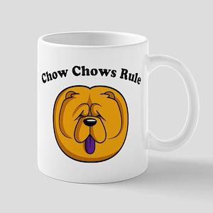 Chow Chows Rule Mug