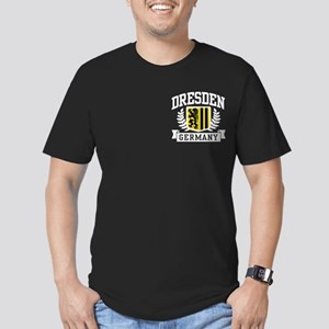 Dresden Germany Men's Fitted T-Shirt (dark)