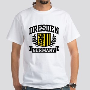 Dresden Germany White T-Shirt