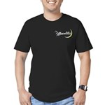 The Moonlites Men's Fitted T-Shirt (dark)