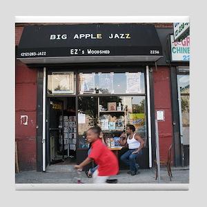 Big Apple Jazz Cafe Tile Coaster