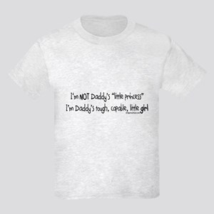 NOT Daddy's princess girl power Kids Light T-Shirt