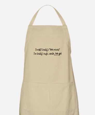 NOT Daddy's princess girl power Apron