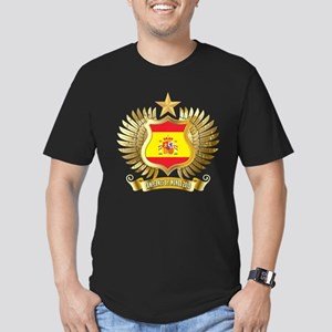 Spain world cup champions Men's Fitted T-Shirt (da