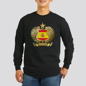Spain world cup champions Long Sleeve Dark T-Shirt