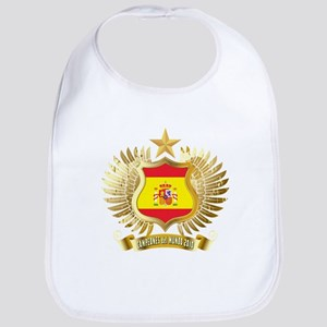 Spain world cup champions Bib
