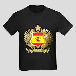 Spain world cup champions Kids Dark T-Shirt