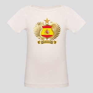 Spain world cup champions Organic Baby T-Shirt