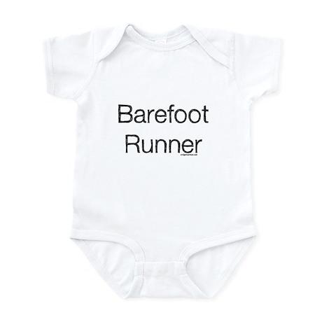 Barefoot runner paleo primal Infant Bodysuit