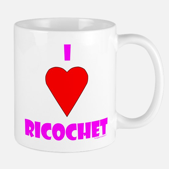"I Heart ""Ricochet"" Mug"