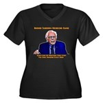 Bernie Sanders Drinking Game Plus Size T-Shirt