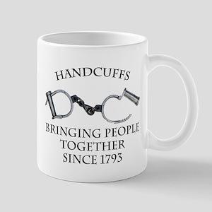 Handcuffs-Bringing People Tog Mug