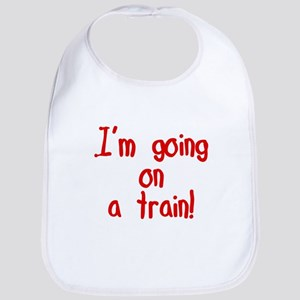 going on a train Bib