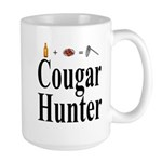 Cougar Hunter Large Mug