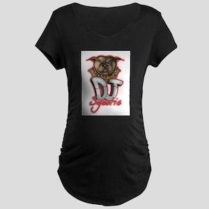 Dj Sycotic Maternity Dark T-Shirt
