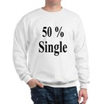 50% Single Sweatshirt