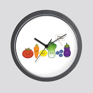 Keep It Colorful Wall Clock