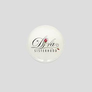 D.I.V.A. Sisterhood Mini Button