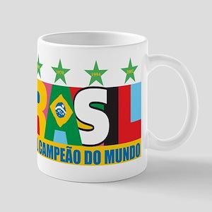 Brazilian World cup soccer Mug