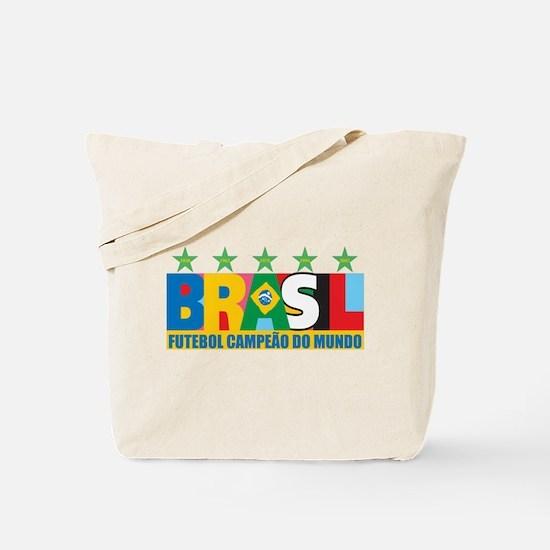 Brazilian World cup soccer Tote Bag
