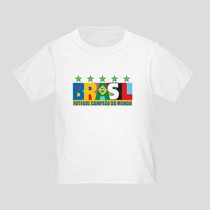 Brazilian World cup soccer Toddler T-Shirt