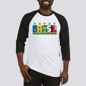 Brazilian World cup soccer Baseball Jersey