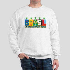 Brazilian World cup soccer Sweatshirt