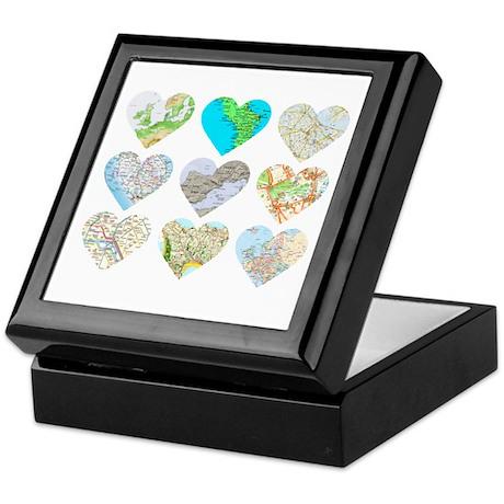 Heart Europe Keepsake Box