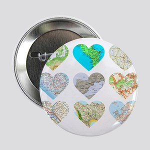 "Heart Europe 2.25"" Button"