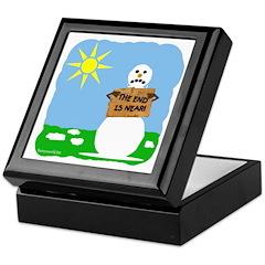 Snowpocalypse Keepsake Box