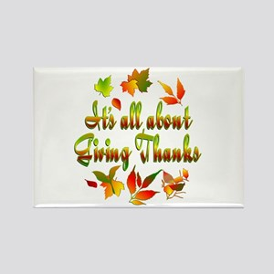Thanksgiving Rectangle Magnet