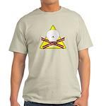 skull & baconbones light t-shirt