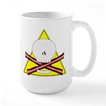 skull & baconbones large mug