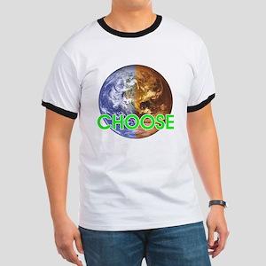 CHOOSE EARTH Ringer T