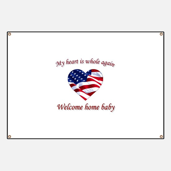 Unique Welcome home Banner