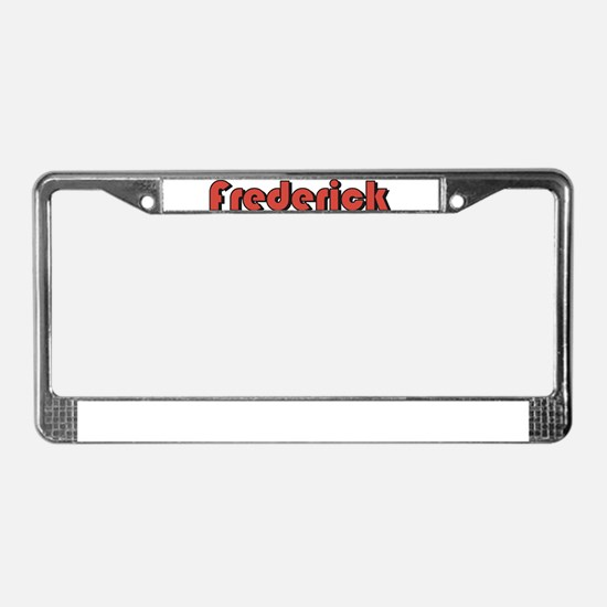 Frederick, Maryland License Plate Frame