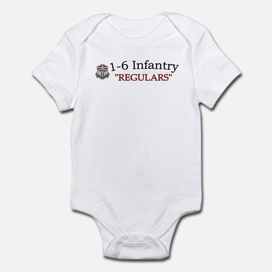 1st Bn 6th Inf Infant Bodysuit