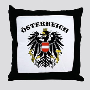Osterreich Austria Throw Pillow
