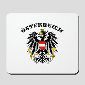 Osterreich Austria Mousepad