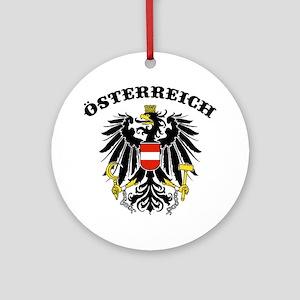 Osterreich Austria Ornament (Round)