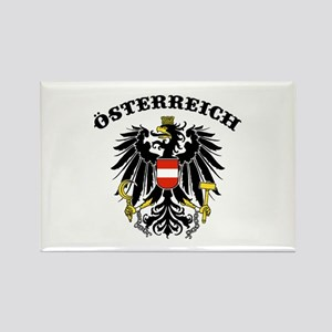Osterreich Austria Rectangle Magnet