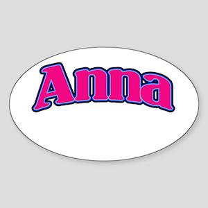 Anna Sticker (Oval)