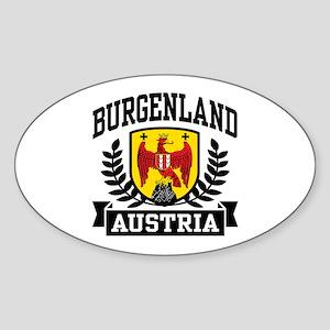 Burgenland Austria Sticker (Oval)
