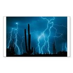 Sonoran Storm Sticker (Rectangle)