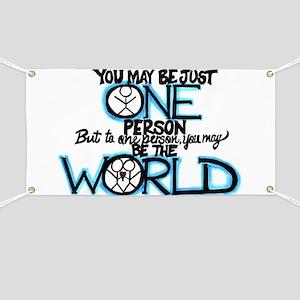 One World Banner