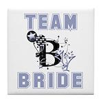 Celebrate Team Bride Tile Coaster