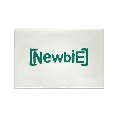 Newbie Rectangle Magnet (10 pack)